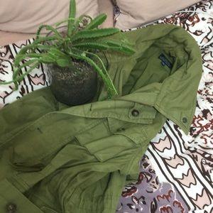 NWOT J Crew army jacket